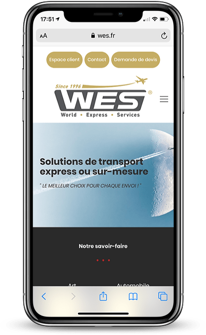 WES transports